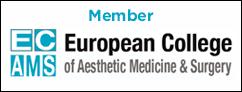 Member of European College of Aesthetic Medicine & Surgery